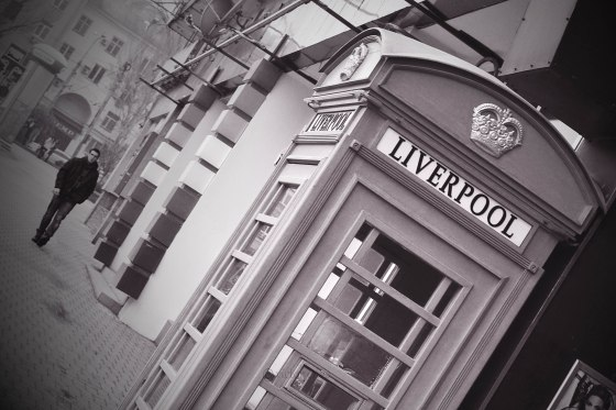 Liverpool phone booth